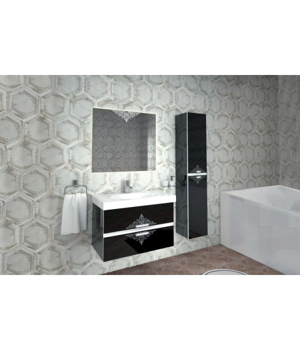 Комплект мебели INGENIUM Аккорд 90, черный