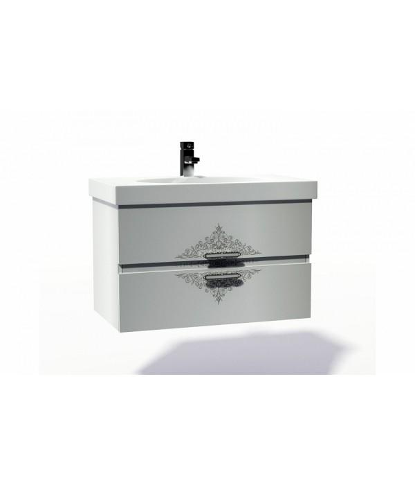 Тумба с раковиной INGENIUM Аккорд 90, белый