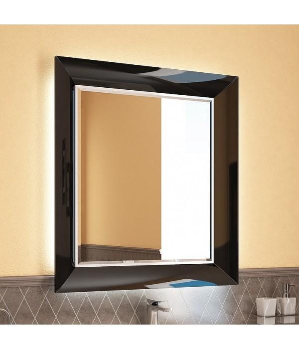Зеркало INGENIUM Вог 75, черный