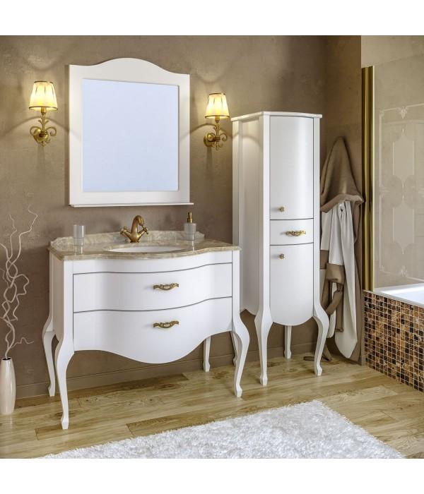 Комплект мебели Timo Ellen plus 100 M-V, белый