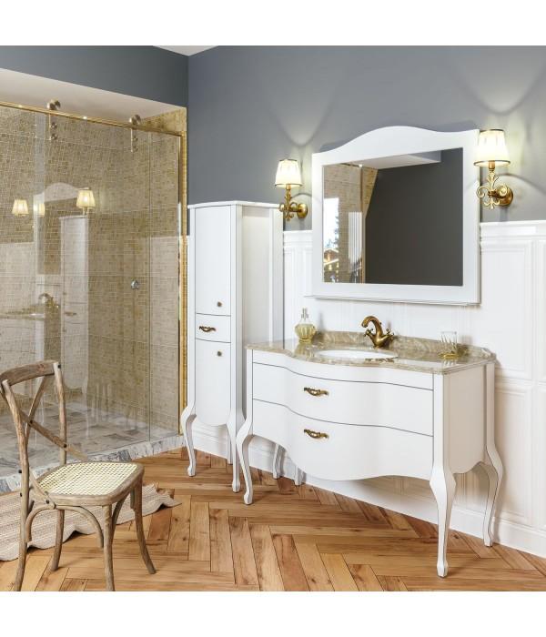 Комплект мебели Timo Ellen plus 120 M-V, белый