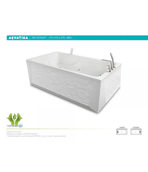 Акриловая ванна Aquatika Аксиома 175 BASIC