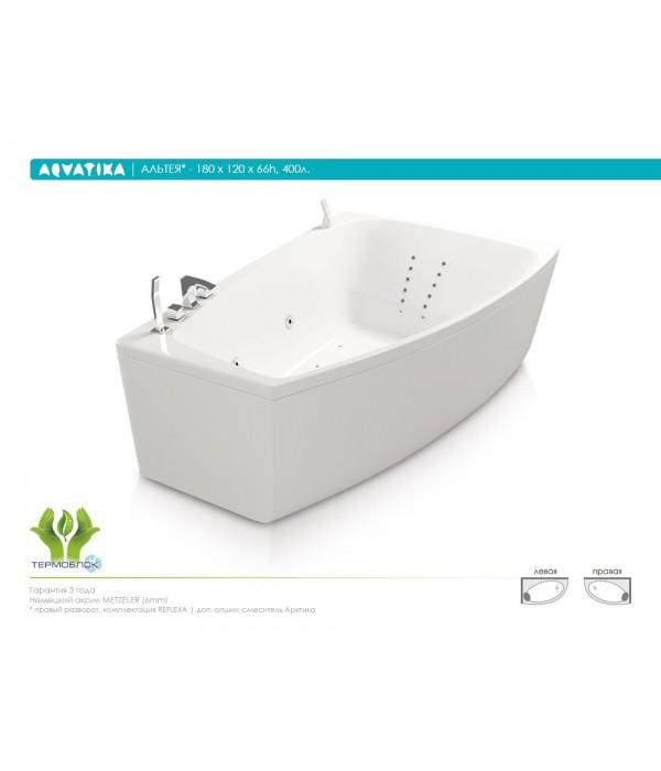 Акриловая ванна Aquatika Альтея 180 BASIC