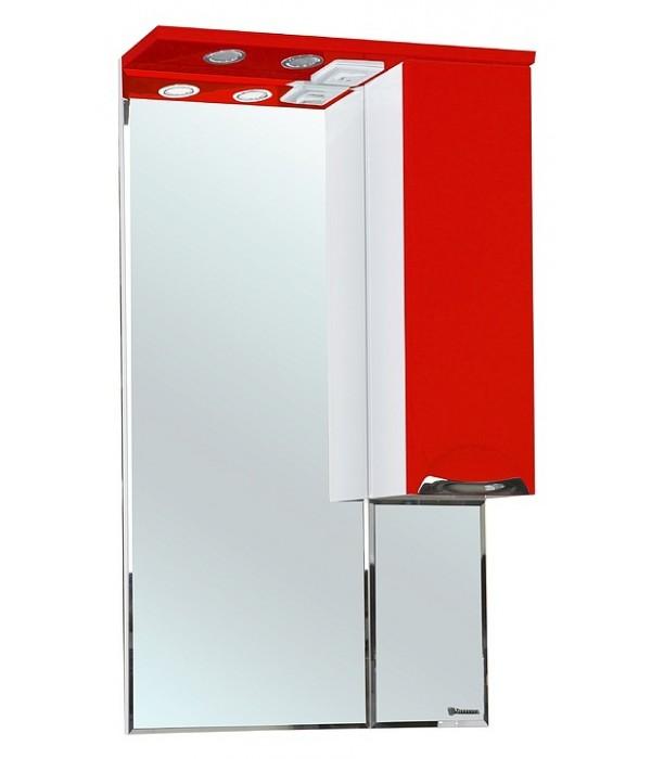 Зеркало-шкаф Bellezza Альфа 55, красный