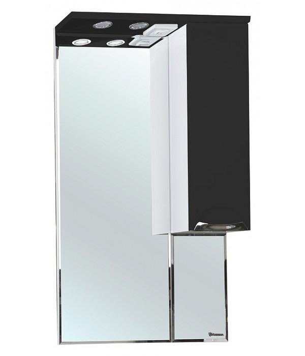 Зеркало-шкаф Bellezza Альфа 55, черный