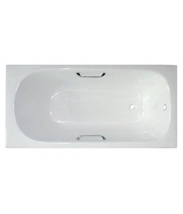 Чугунная ванна Castalia 150x70x42 с ручками