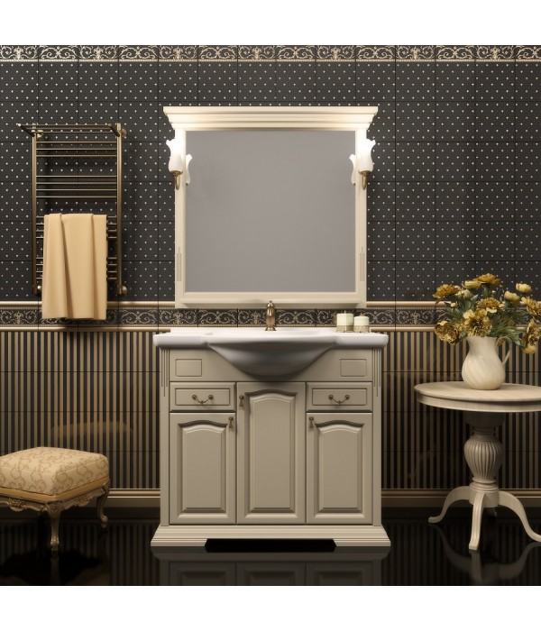 Комплект мебели Opadiris Риспекто 95 слоновая кость