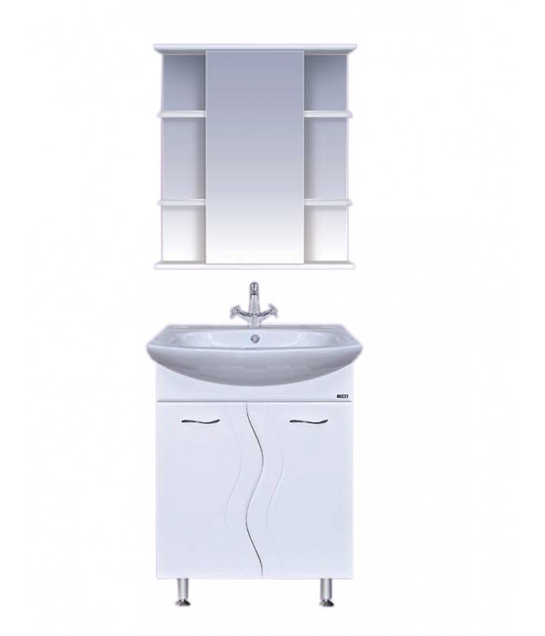 Комплект мебели для ванной  65 15.2 М с бельевой корзиной