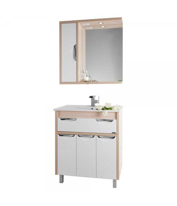 Комплект мебели 75 1.9, дуб/белый