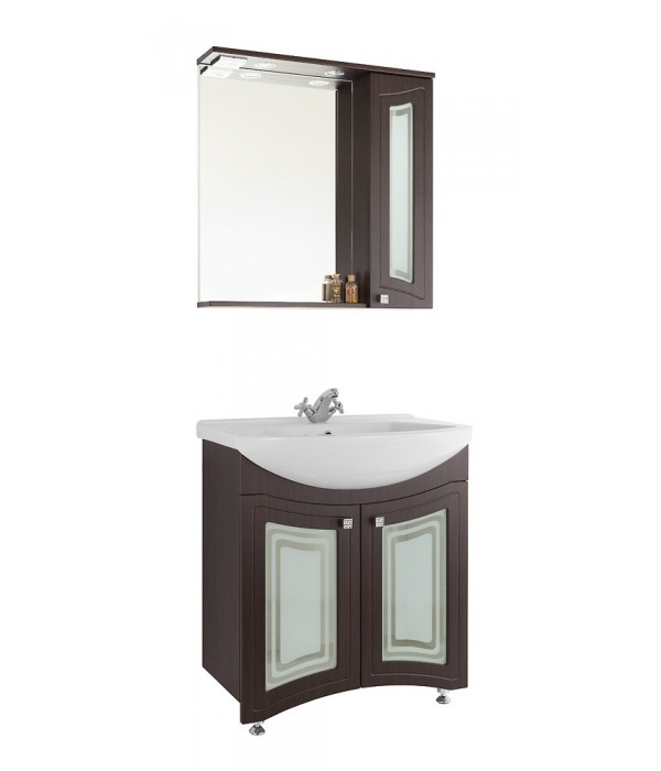 Комплект мебели 65 (фасад стекло) 1.36, венге