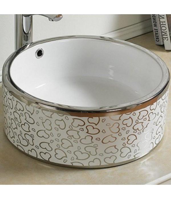 Раковина для ванной декор Melana MLN-7076SP-1