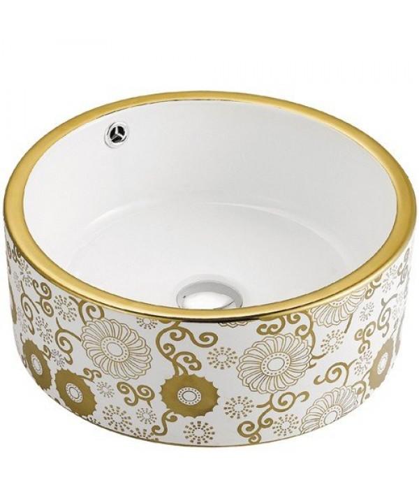 Раковина для ванной декор Melana MLN-A028-C