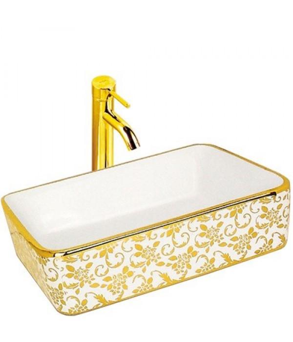 Раковина для ванной декор Melana MLN-A022-C