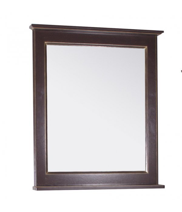 Зеркало ASB-Woodline Прато 70 Орех темный
