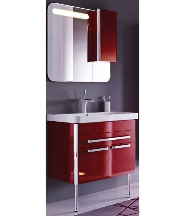 Комплект мебели Alavann Ларго 80 темный кармин