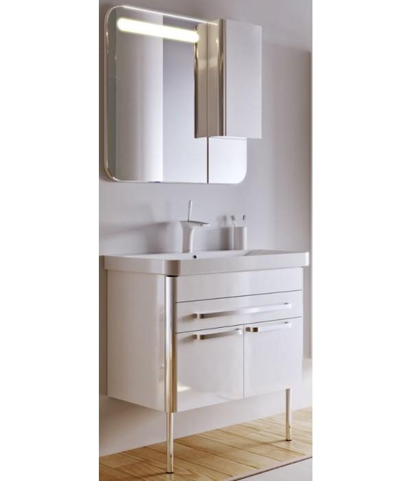 Комплект мебели Alavann Ларго 80 белый кальцит