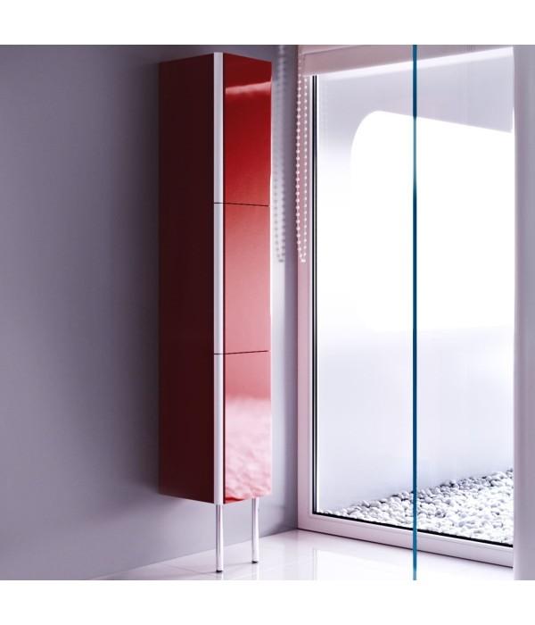 Пенал для ванной Alavann Ларго 30 темный кармин
