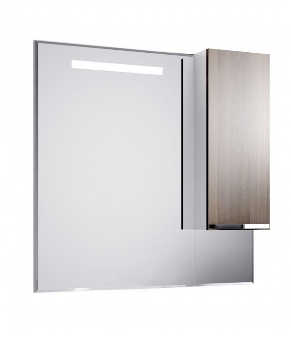 Шкаф-зеркало Alavann Латте 100, венге