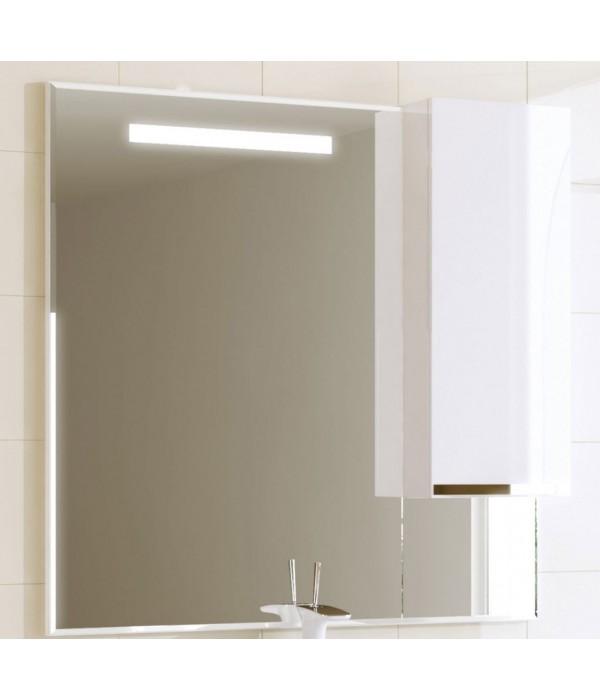Шкаф-зеркало Alavann Латте 100, белый