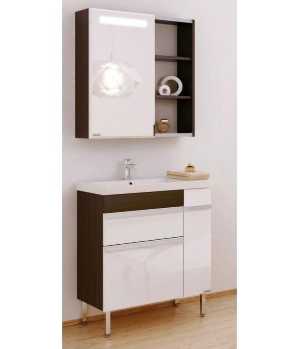 Комплект мебели Alavann Марко 70, белый/венге