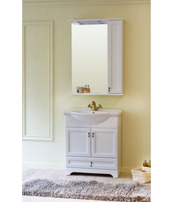 Комплект мебели Аллигатор Милана 5 55, белый