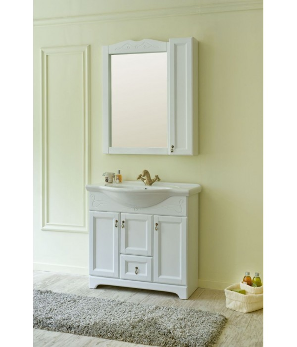 Комплект мебели Аллигатор Милана 8 85, белый