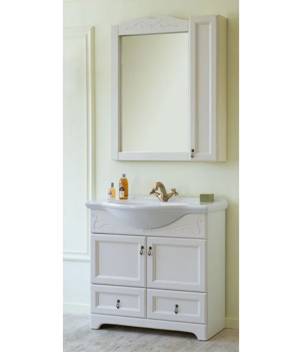 Комплект мебели Аллигатор Милана 9 65, белый