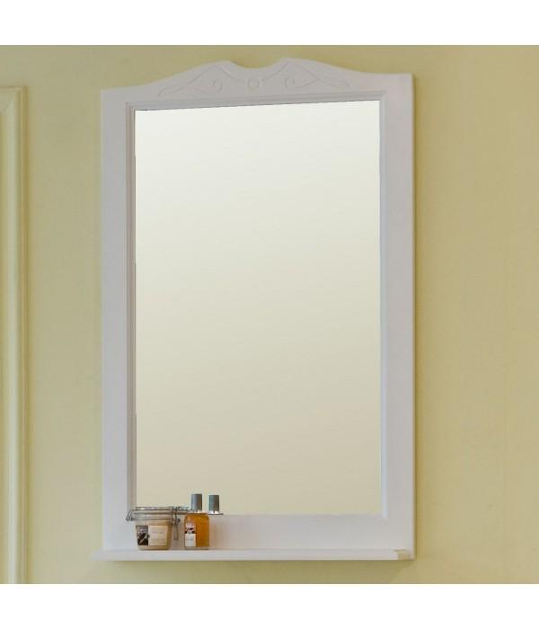 Зеркало Аллигатор Милана 1 55, белый