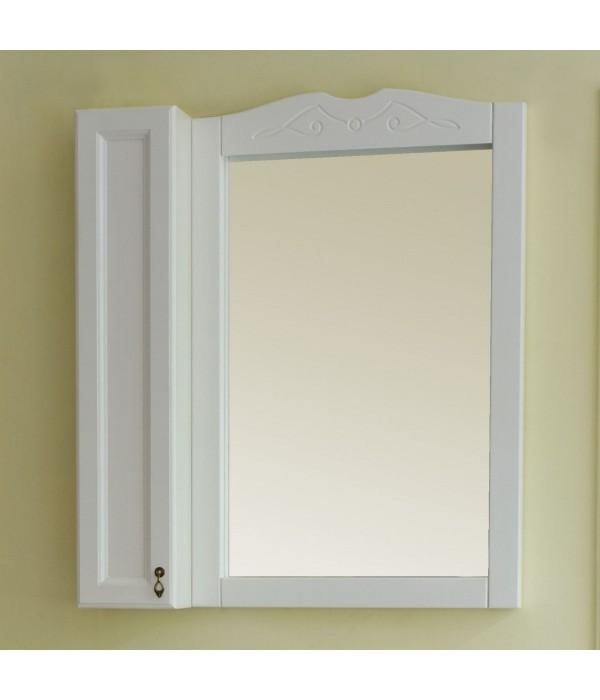 Зеркало-шкаф Аллигатор Милана 4 60, белый