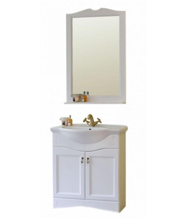 Комплект мебели Аллигатор Милана 4 55, белый
