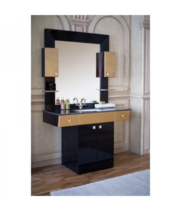 Комплект мебели Аллигатор Квадро B 120, черный