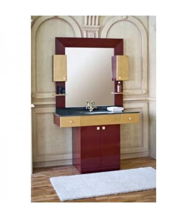 Комплект мебели Аллигатор Квадро B 120, коричневый