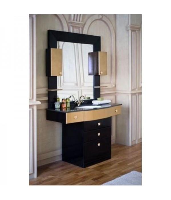 Комплект мебели Аллигатор Квадро C 120, черный