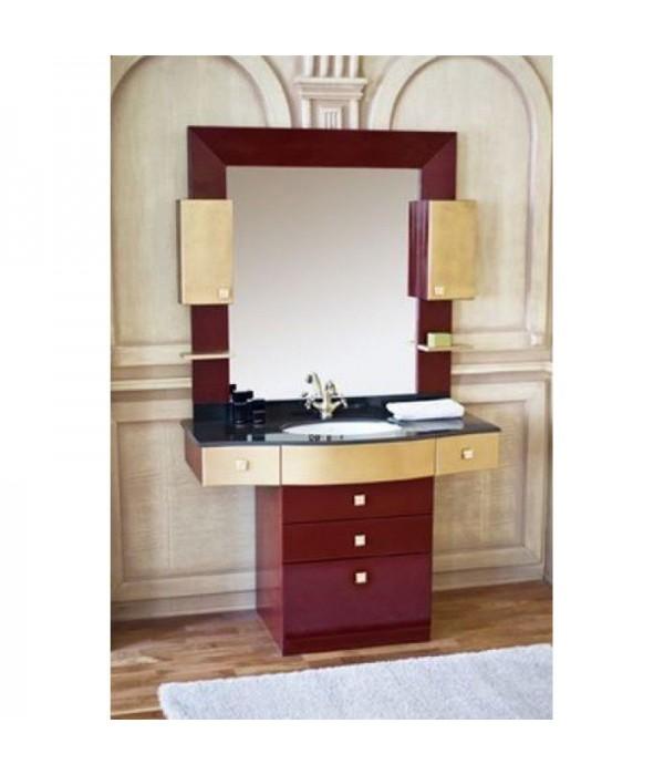 Комплект мебели Аллигатор Квадро C 120, коричневый
