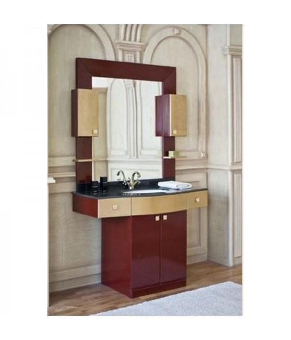 Комплект мебели Аллигатор Квадро A 120, коричневый