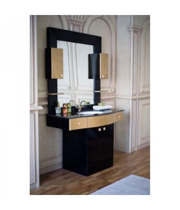 Комплект мебели Аллигатор Квадро A 120, черный