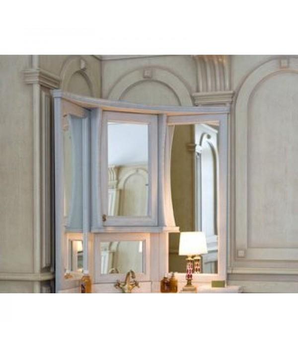 Зеркало-шкаф Аллигатор Классик 125 на столешнице угловое