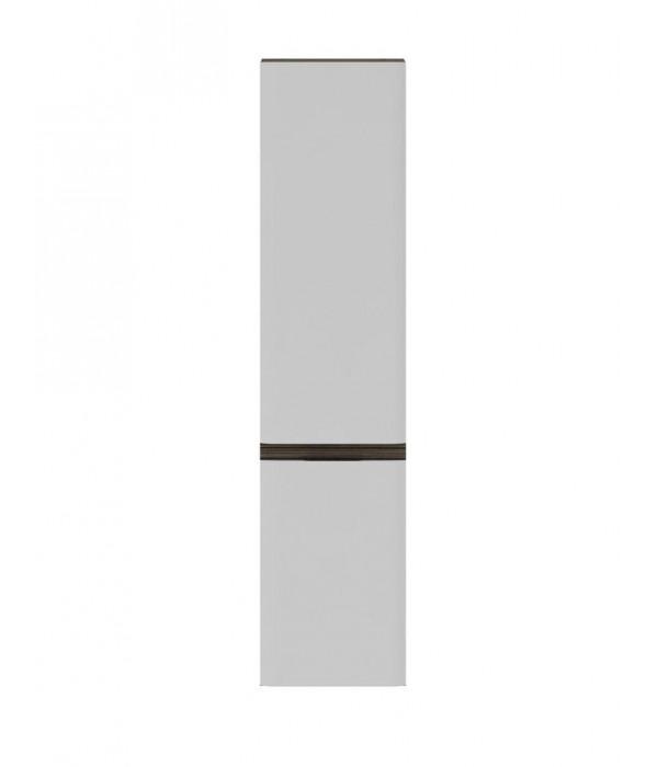 Пенал Am.Pm Bliss D 34 с бельевой корзиной белый-венге
