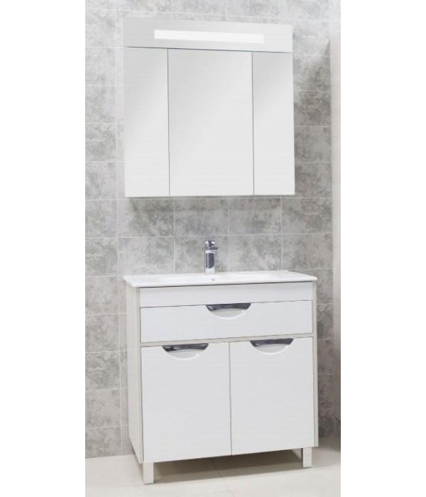 Комплект мебели для ванной комнаты Акватон Юта 80