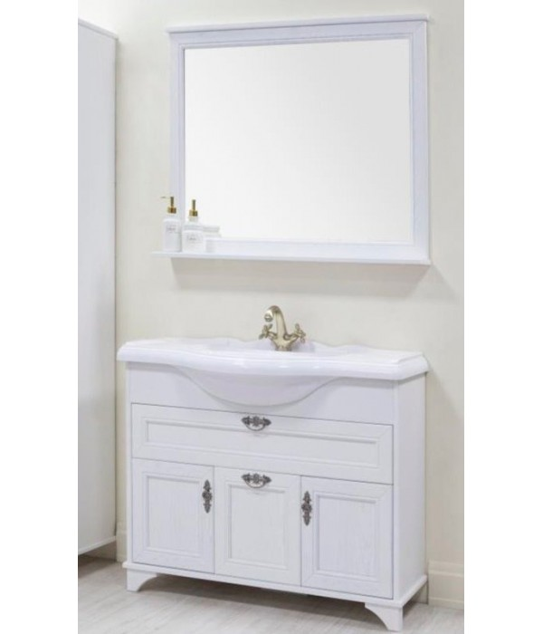 Комплект мебели Акватон Идель 105 дуб белый