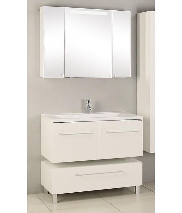 Комплект мебели Акватон Мадрид 120 с 2 ящиками, белый
