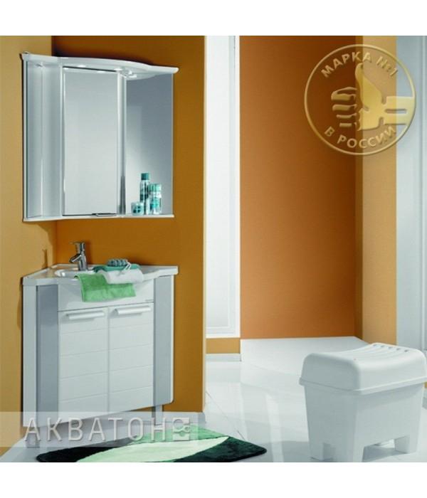 Комплект мебели Акватон Альтаир 62 бело-серая