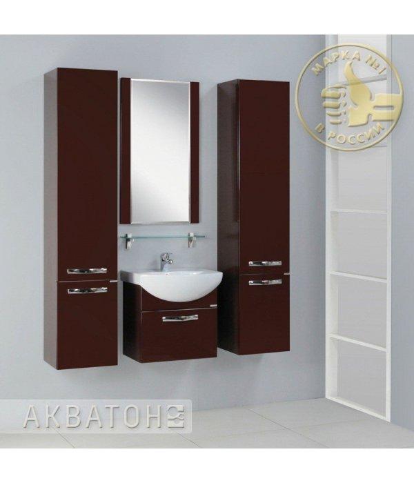Комплект мебели Акватон Ария 50 темно-коричневая