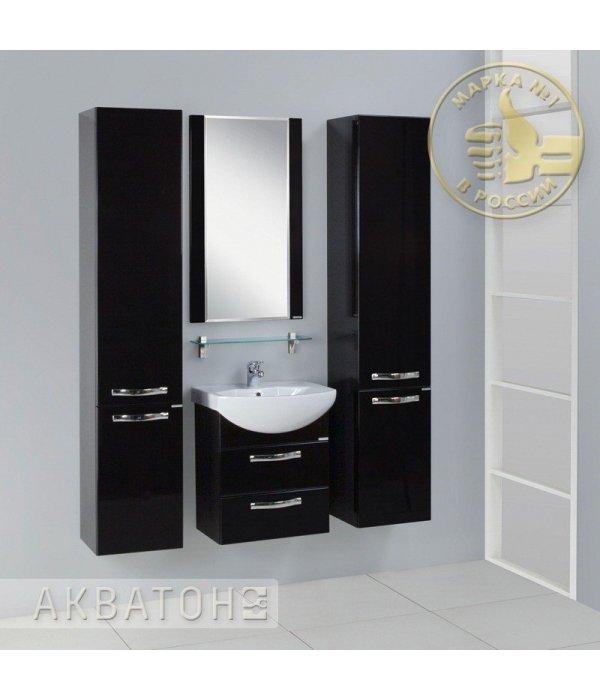 Комплект мебели Акватон Ария 50 М черный глянец