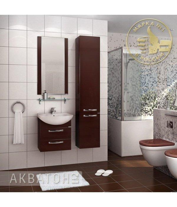 Комплект мебели Акватон Ария 50 М темно-коричневая