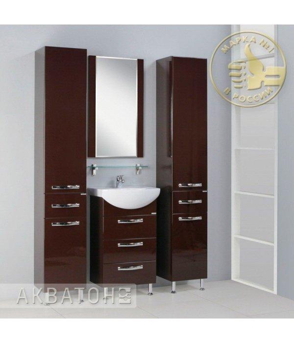 Комплект мебели Акватон Ария Н 50 темно-коричневая