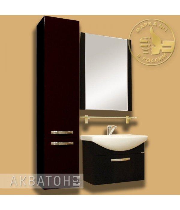 Комплект мебели Акватон Ария 65 черный глянец