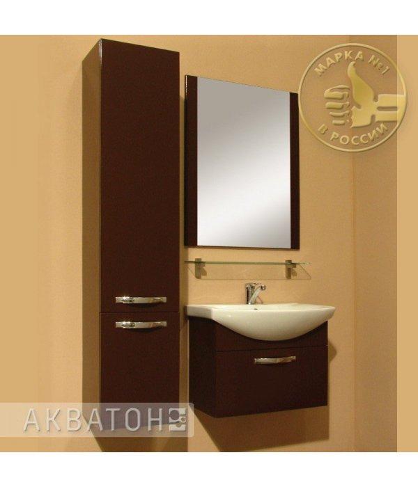 Комплект мебели Акватон Ария 65 темно-коричневая