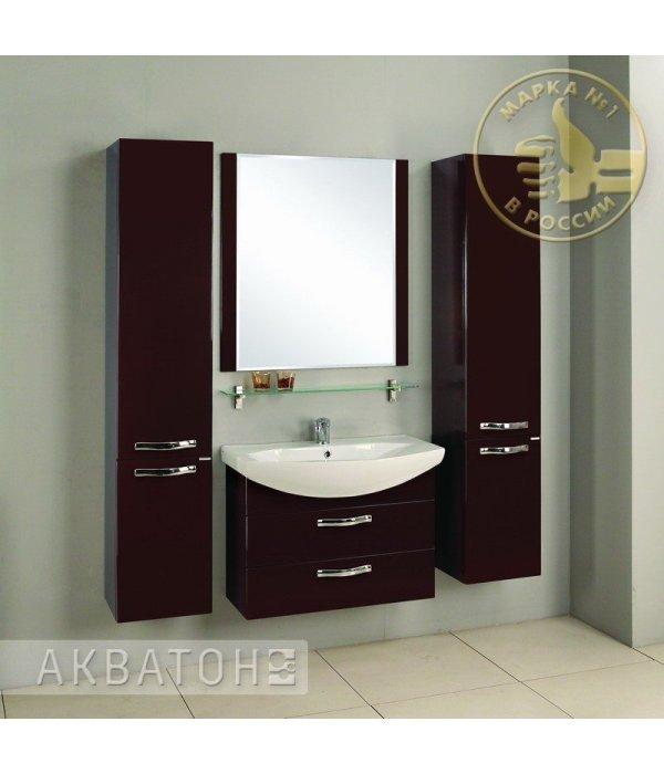 Комплект мебели Акватон Ария М 80 темно-коричневая