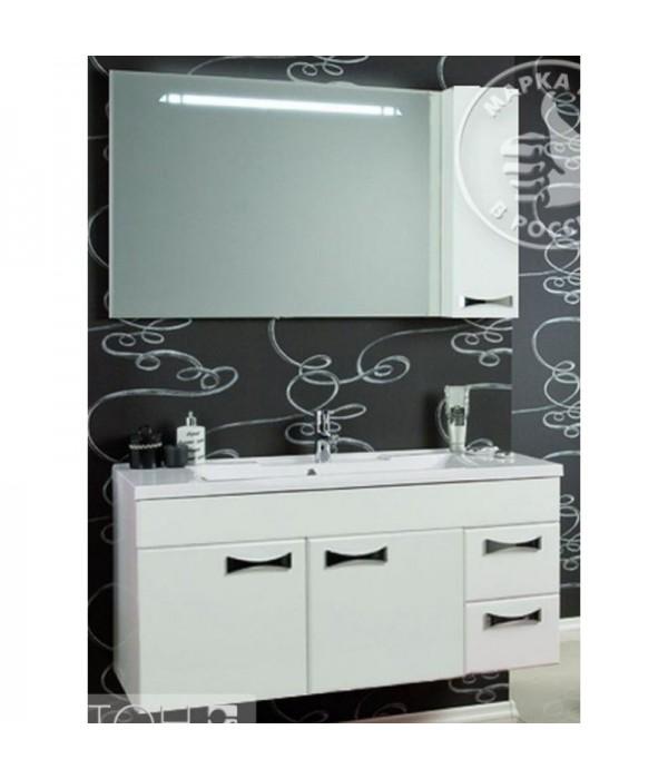 Комплект мебели Акватон Диор 120, белый